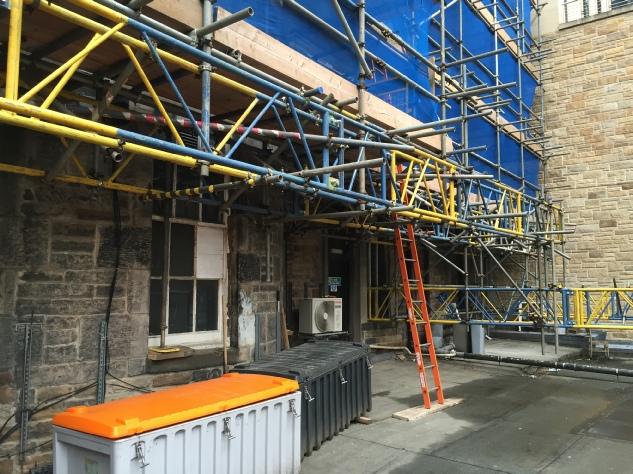 Scaffolding Edinburgh 2